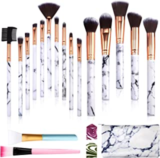 Subsky Makeup Brushes Marble Makeup Brushes Set 17PCS mothers day gifts