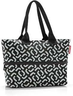 Reisenthel Shopper e1 Großraumtasche aus hochwertigem Polyestergewebe in der Farbe Signature Black/wasserabweisend