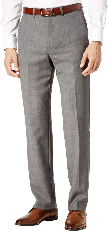 Ryan Seacrest Mens Modern-Fit Casual Trouser Pants, Grey, 38W x 32L