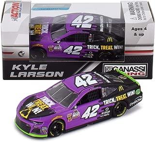 with Die Cut Magnet NASCAR Authentics Kyle Larson #42 Diecast Car 1//64 Scale Collectible 2018 Wave 11