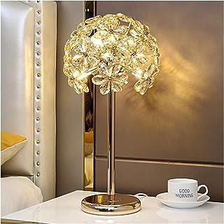 Lampe de Table Lampe de Table Moderne Luxe Crystal Table Lampe Chambre à Coucher Lampe de Chevet Creative Minimaliste Mode...