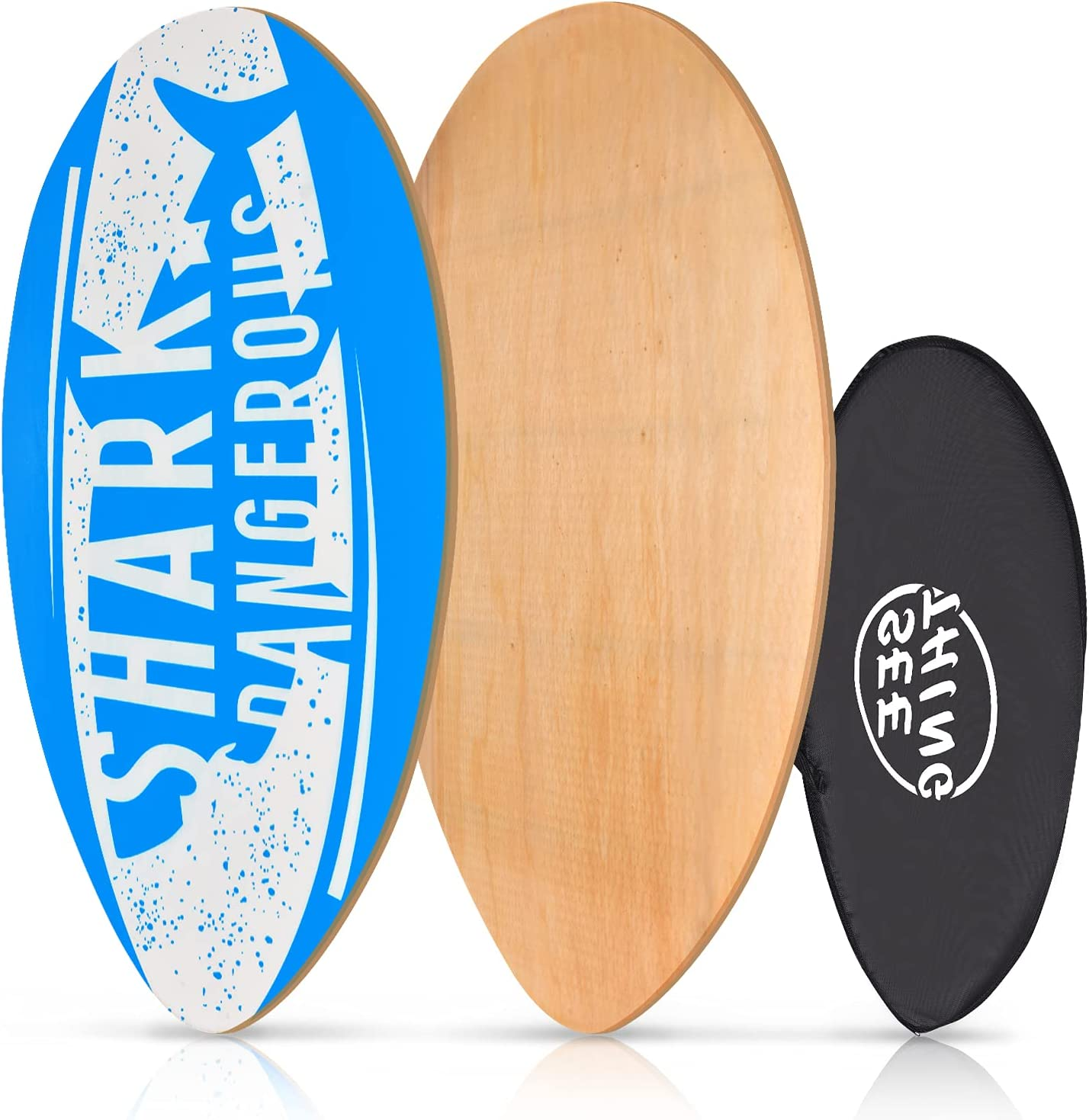 seething 35 Inch Skimboard with High Gloss Coat supreme Wood Now free shipping Skim Boar