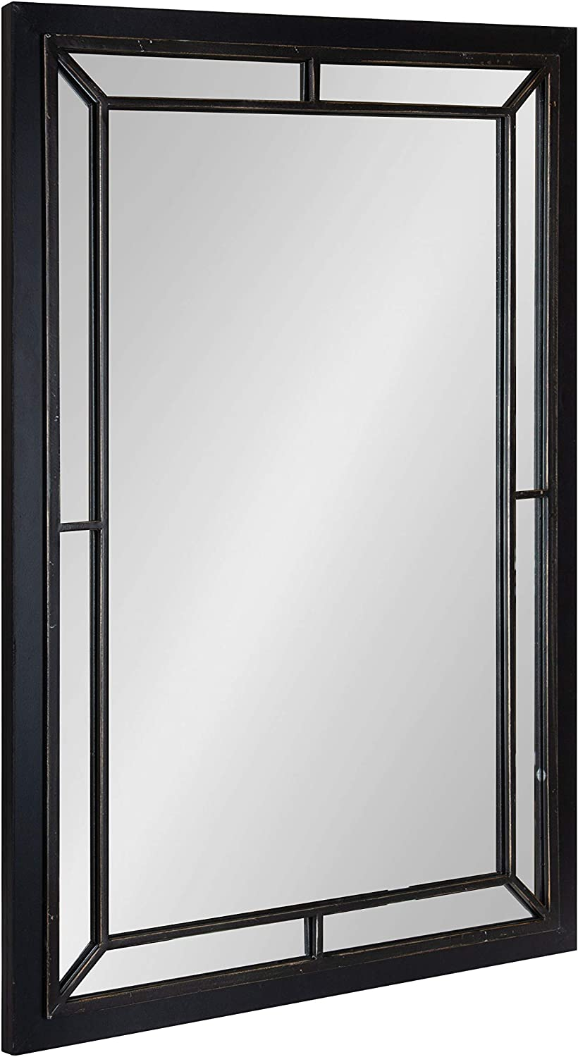 Kate and Laurel Audubon Farmhouse Wall 36 Special price Mirror Black D Challenge the lowest price of Japan x 24
