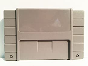 Empty Grey Cartridge Case Shell for SNES Nintendo Games by Atomic Market