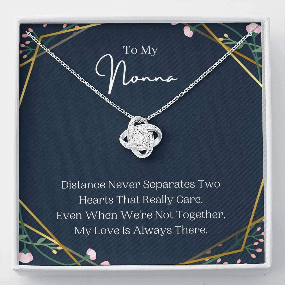 Personalized Pendent Necklace, 23 Pendent Necklace ,Love Knot, Nonna Gift Necklace Nonna Present Best Nonna Ever Gift Jewelry For Nonna Birthday, Nonna To Be, Italian Grandma Gift