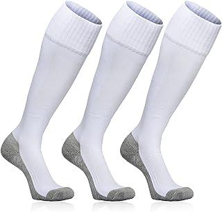 KOZR Soccer Socks ,3 pack Over-The-Calf Socks for Kid to...
