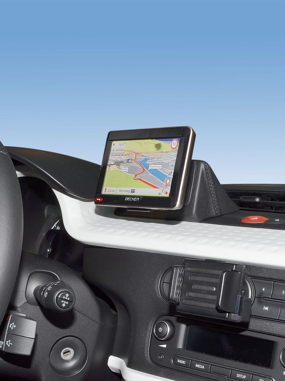 Kuda 5600 Halterung Echtleder Schwarz Für Renault Elektronik