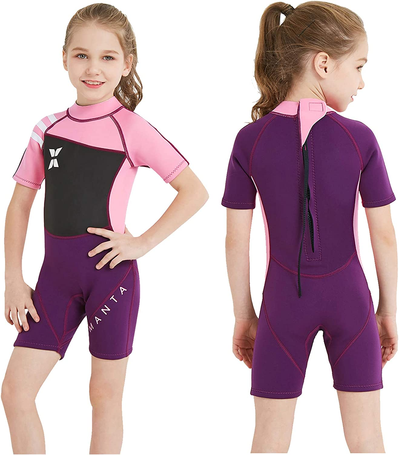 DIVE Japan's largest assortment SAIL Kids Wetsuit Department store Shorty Neoprene Thermal Swimsuit 2.5mm
