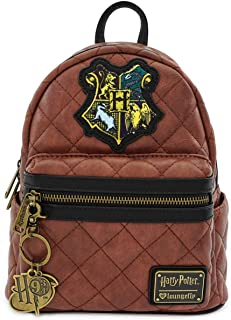 Loungefly x Harry Potter Hogwarts Crest Quilted Mini Backpack
