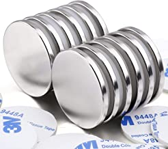Sponsored Ad - Super Strong Neodymium Disc Magnets with Double-Sided Adhesive, Powerful Permanent Rare Earth Magnets. Frid...