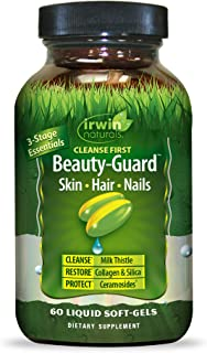 Irwin Naturals Cleanse First Beauty-Guard Essentail Nutrient Support for Healthy Liver Function - Detox, Hydrate & Restore...