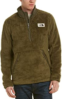 The North Face M Campshire Full Zip Up Burnt Olive Green Mens L