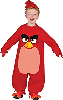 Baby Angry Birds Movie Red Romper Costume