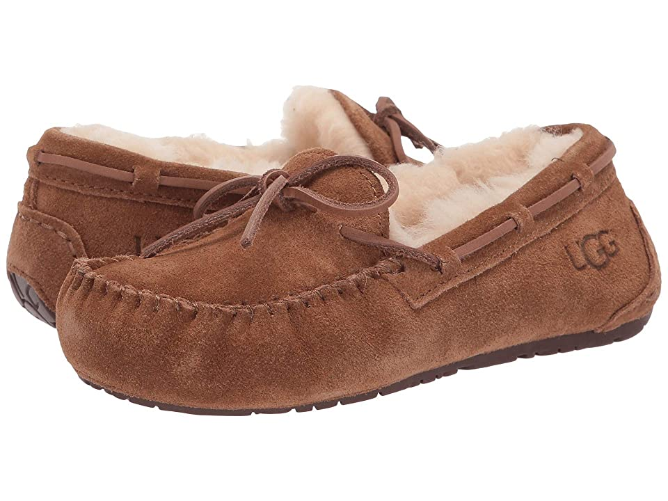 UGG Kids Dakota (Toddler/Little Kid/Big Kid) (Chestnut) Kids Shoes