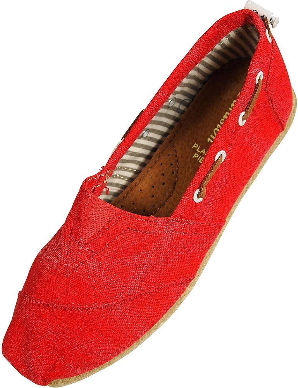 FARASION - Ladies Canvas Slip-On Loafer
