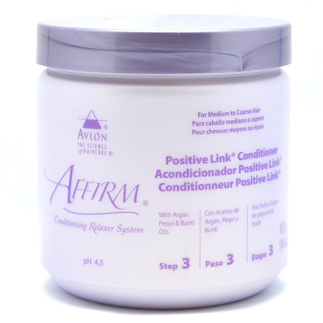 再生女性ゲインセイAffirm Positive Link Conditioner by Avlon, 16 Ounce by Avlon