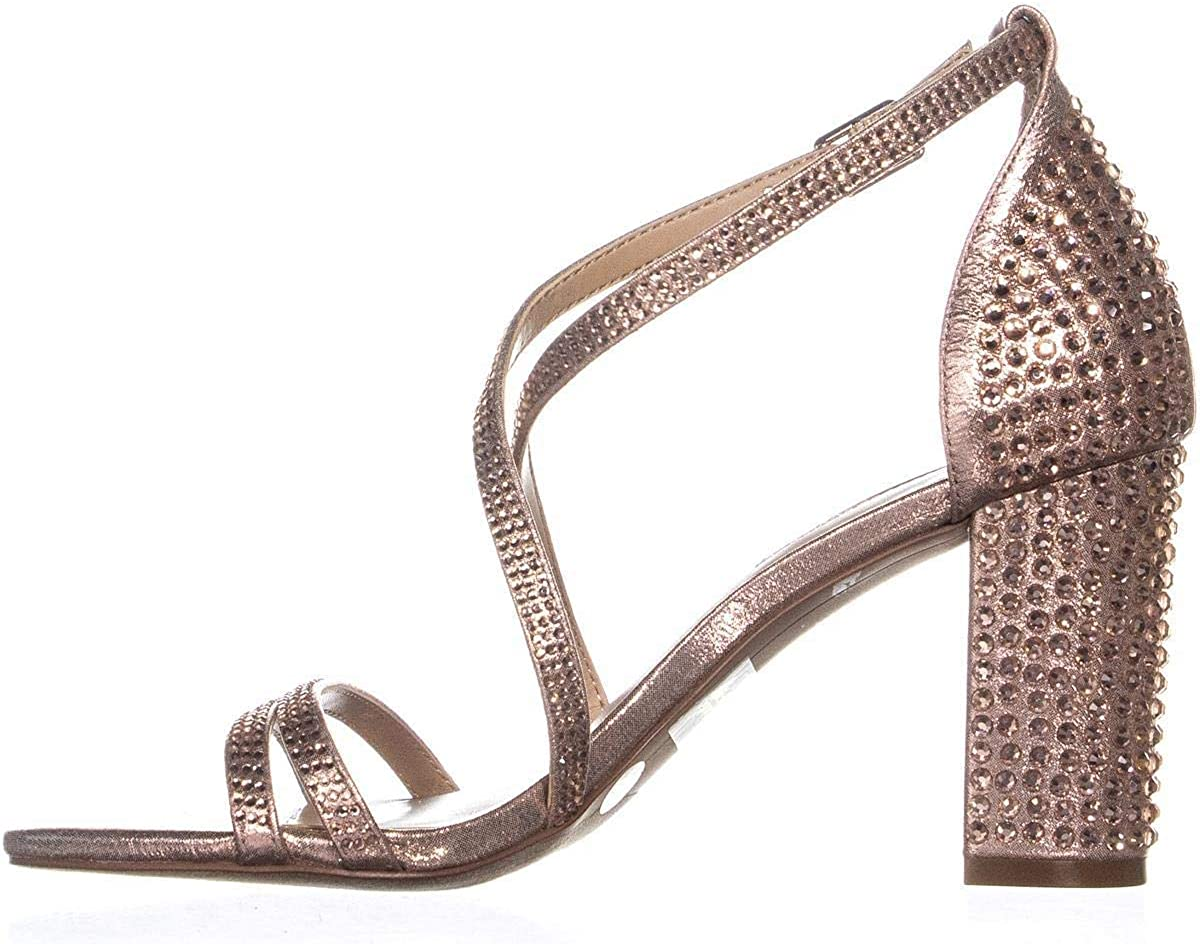 INC International Concepts Womens Kamma Fabric Open Toe Ankle Strap D-Orsay P.