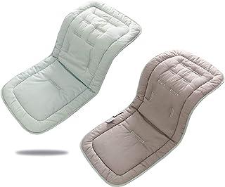 Sitzeinlage Sitzauflage Sitzpolster Kinderwagen Buggy Autositz Babyschale Sommer Atmungsaktiv Universal 33x80CM