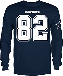 Jason Witten Dallas Cowboys Youth Navy Eligible Player Long Sleeve T-shirt