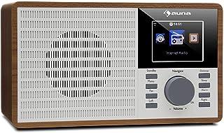 auna IR-160 - internetradio, wekkerradio, digitale radio, WLAN, MP3 / WMA-compatibele USB-poort, AUX, wekker, muziekstream...