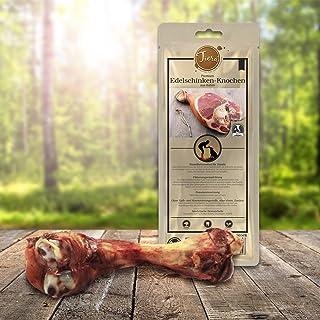 Jamonero inoxidable Kau de hueso grande para perro (L) de Tiera Gourmet