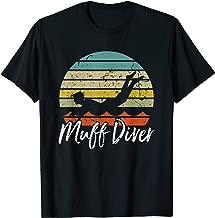 Funny Sexual Adult Humor Muff Diver Design T-Shirt