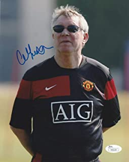 Sir Alex Ferguson Autographed Signed Manchester United 8x10 Photo Proof JSA Authenticated