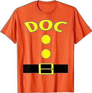 Doc Dwarf Halloween Costume Funny Gift Idea Doc Dwarf Top T-Shirt