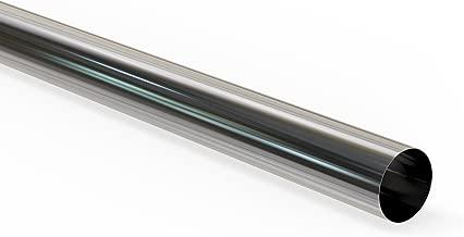 Schlauchland 10cm Edelstahl-Verbinder AD 90mm poliert /& geb/ördelt V2A rostfrei Edelstahlrohr Rundrohr *** Gro/ße Auswahl 6-200 mm Au/ßendurchmesser