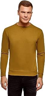 oodji Ultra Men's Basic Cotton Sweatshirt