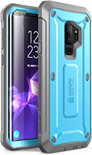 SUPCASE Unicorn Beetle Pro Series Case Designed for Samsung Galaxy S9+ Plus, with Built-In Screen Protector Full-body Rugged Holster Case for Galaxy S9+ Plus (2018 Release) (Blue)