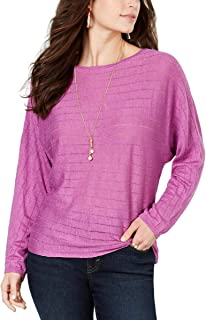 Style & Co. Women's Boat-Neck Dolman-Sleeve Sweater