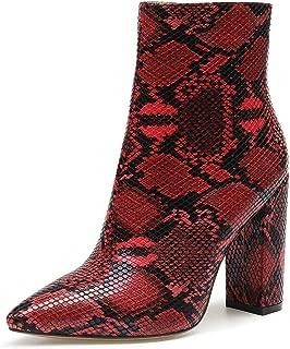 CASTAMERE - Botas de tacón Alto para Mujer con Puntera y Hebilla de 10 cm
