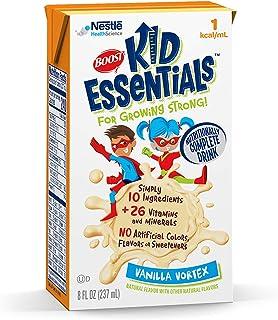 BOOST Kid Essentials 1.0 Nutritionally Complete Drink, Vanilla Vortex, 8 Ounce Box (Caser of 27)