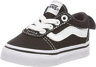Vans TD Ward Slip-On, Unisex Baby's Shoes, Black ((Canvas) black/white 187), 4.5 UK (21 EU)