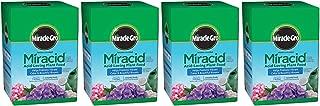 Scotts Company 185001 Garden Pro Water Soluble Miracid Acid Loving Plant Food, 4-Pound (Fоur Paсk)