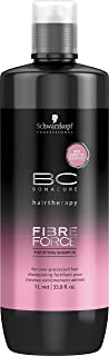 BC Bonacure FIBRE FORCE Fortifying Shampoo, 33.8-Ounce