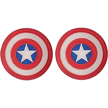 Captain America Superhero Embroidered Iron On Sew On Patch Badge For Clothes etc