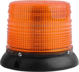Emergency Beacon Light, YITAMOTOR 84 LED High Power Car Construction Lights Amber Roof Top Emergency Strobe Warning Beacon with Strong Magnetic Base for Trucks School Bus Snow Plow