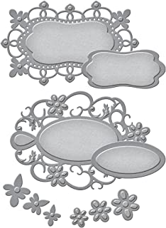 Spellbinders Floral Tags Etched/Wafer Thin Dies