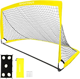 Sportout Portable Soccer Goal, Training Soccer Net for...