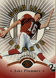 JAKE PLUMMER - GOLD LEAF ROOKIE CARD NFL FOOTBALL CARD #162 (ARIZONA CARDINALS) FREE SHIPPING AND TRACKING