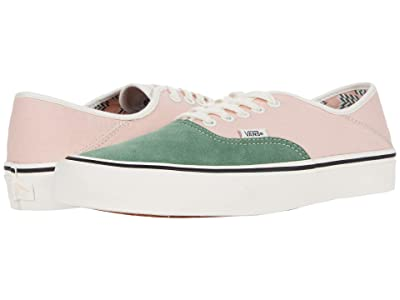 Vans Authentic SF ((Mod Checkerboard) Peachy Keen/Marshmallow) Lace up casual Shoes