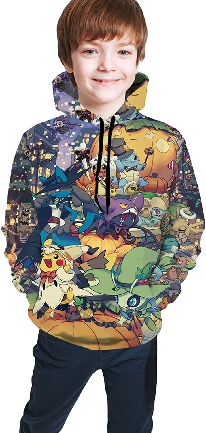 Anime Pets Youth Pullover 3d Cartoon Digital Printing Sweatshirt Sweater For Boys And Girls Sweater