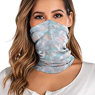 Aadiju Seamless Face Bandana Mask Neck Gaiter Bandana Headwear Scarf Helmet Liner Women Mens for Outdoor Activities Sports
