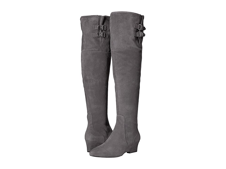Nine West Jaen (Dark Grey Suede) Women