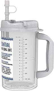 32 Oz W.E. Insulated Cold Drink Hospital Mug with Granite Lid