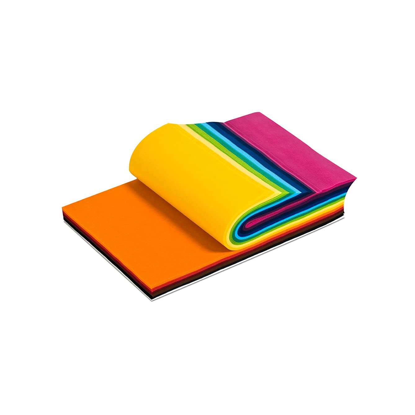 Smart-Fab Fabric Weatherproof Cut Sheet, 9 x 12 Inches, Assorted Color, Pack of 270
