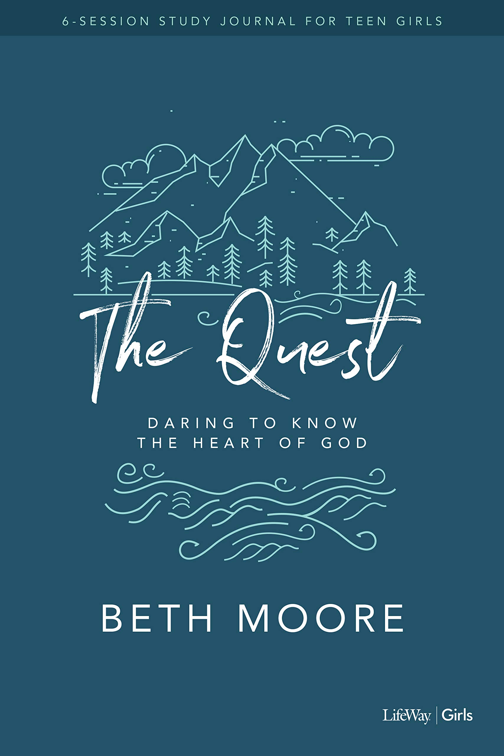 Image OfThe Quest - Study Journal For Teen Girls: Daring To Know The Heart Of God