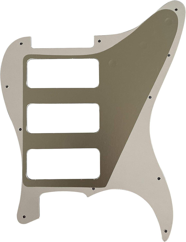 Guitar Parts For Fender Stratocaster Strat P90 3 Pickup Guitar Pickguard 3 Ply Black